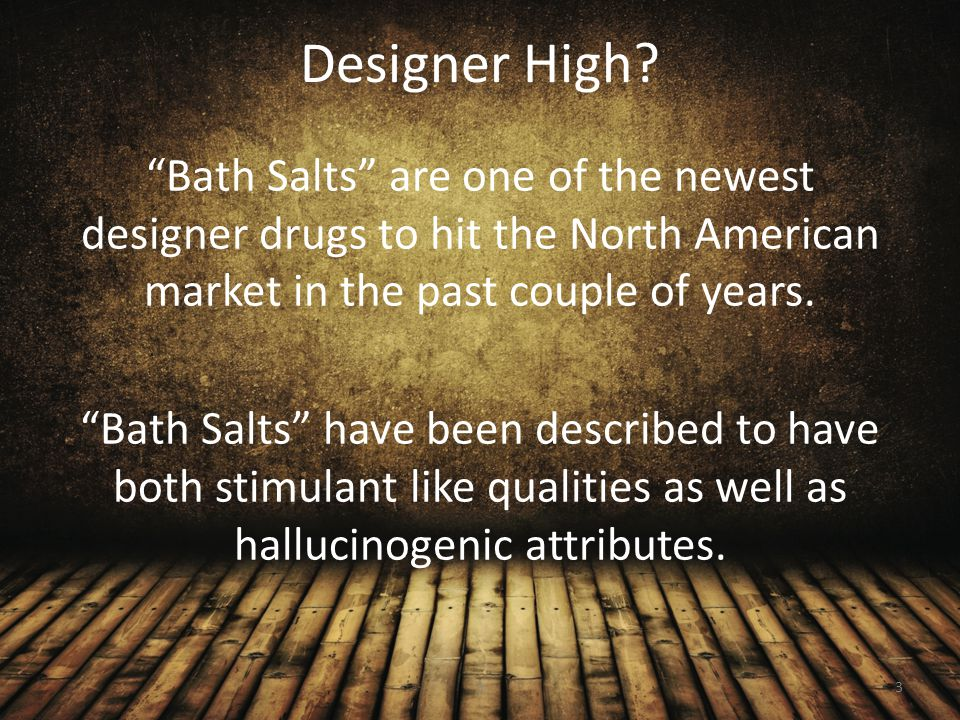 Long Term Effects Because of the newness of Bath Salts little if anything is known regarding its long term effects.