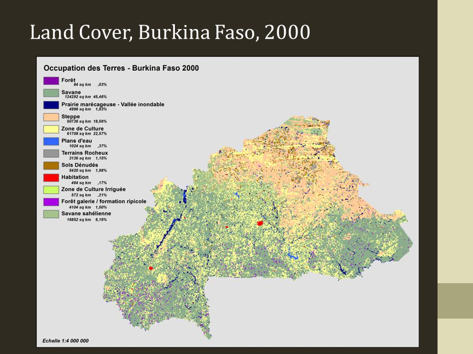 Land Cover, Burkina Faso, 2000