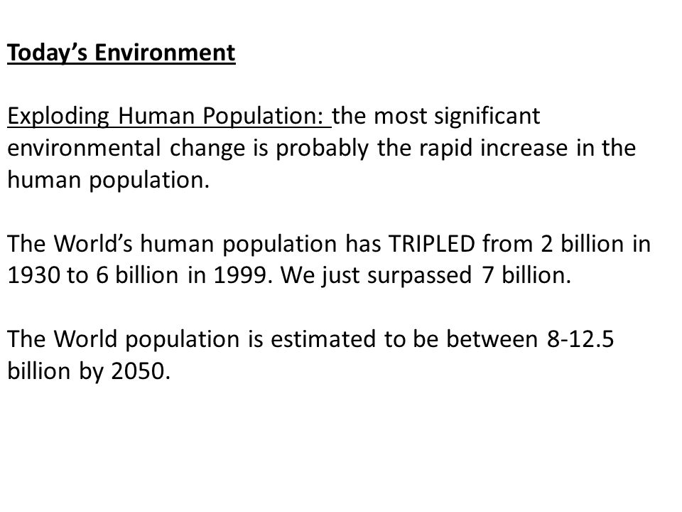ESTIMATED Population of the World in Millions 1991 Information Please AlmanacLivi-Bacci Concise History of World Population, 2nd, 1997 Colin McEvedy Atlas of World Population History 1978 United Nations 1999 BCE 400153 CE 1252170300 200257190 400190 600208200 800220 1000253265310 1200400360 1400442360 1500461425500 1600578545600 1650470545 1700680610 1750694771720791 1800954900980 18501091124112001260 19001571163416251650 19502513252025002520 199053215270 200062366060