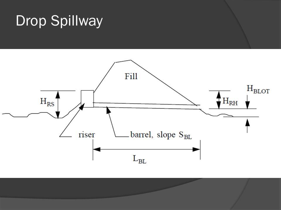 Drop Spillway