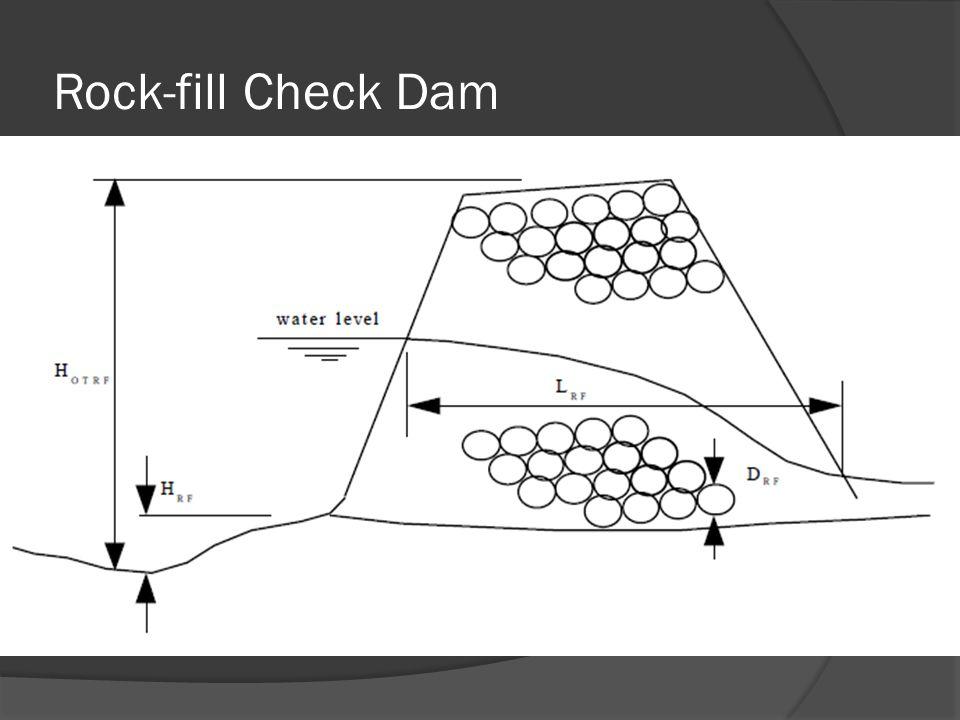 Rock-fill Check Dam