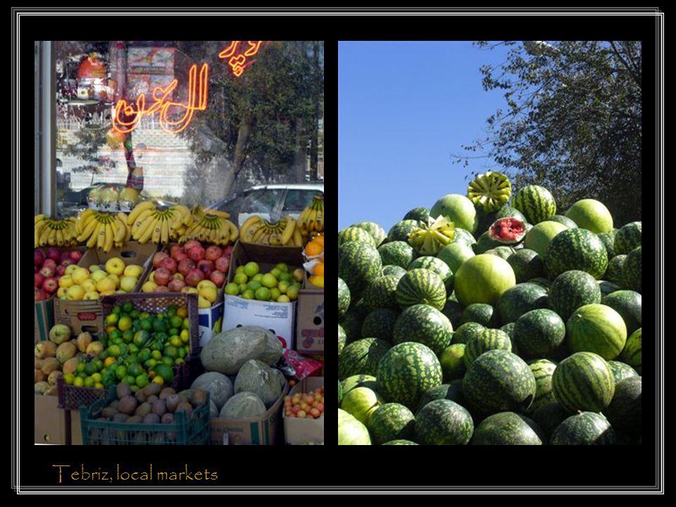 Tebriz, local markets