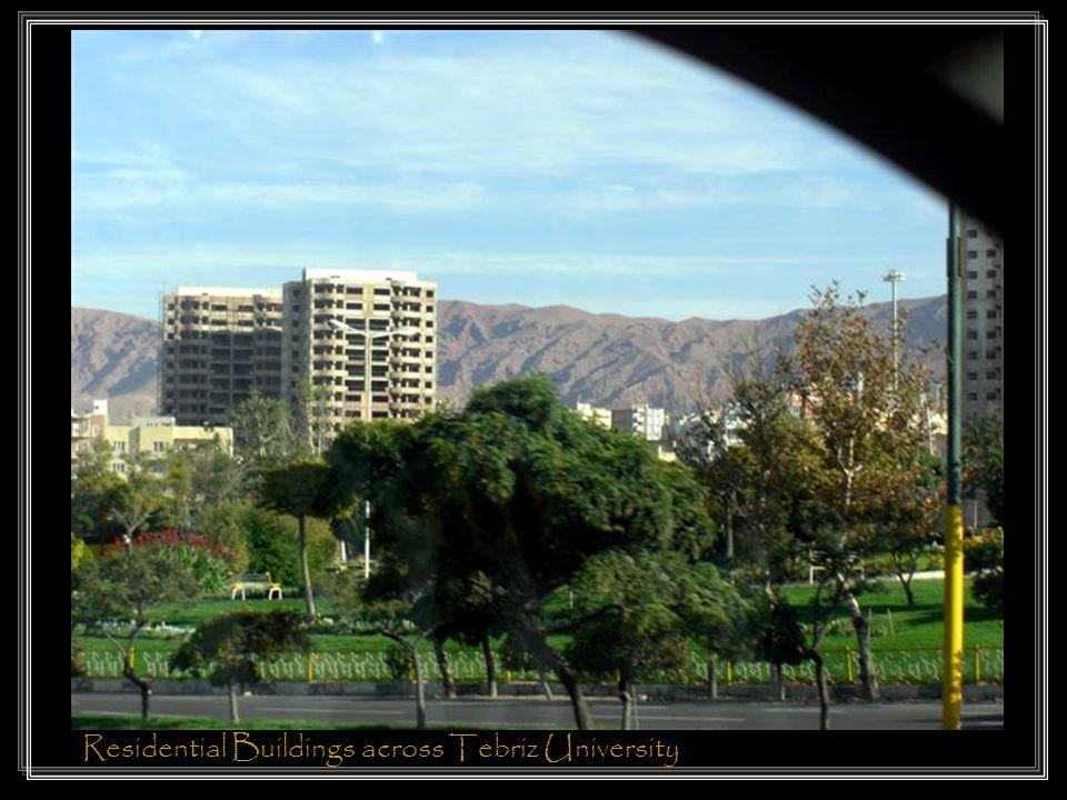 Residential Buildings across Tebriz University