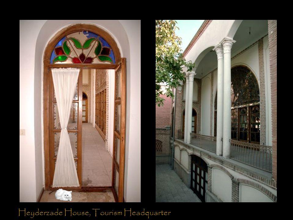 Heyderzade House, Tourism Headquarter