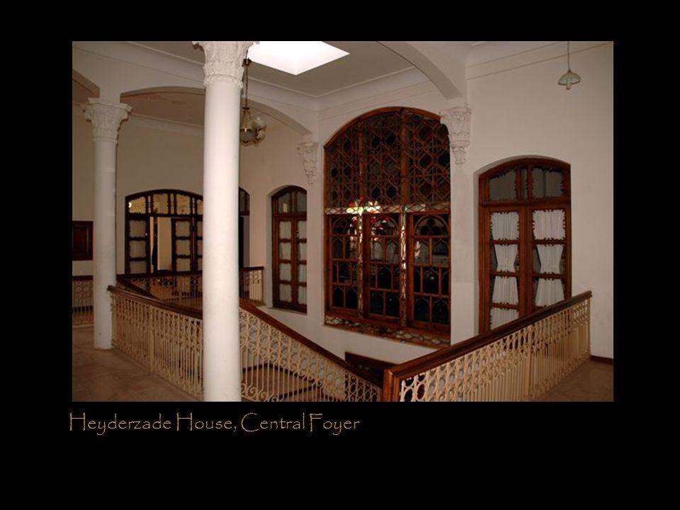 Heyderzade House, Central Foyer