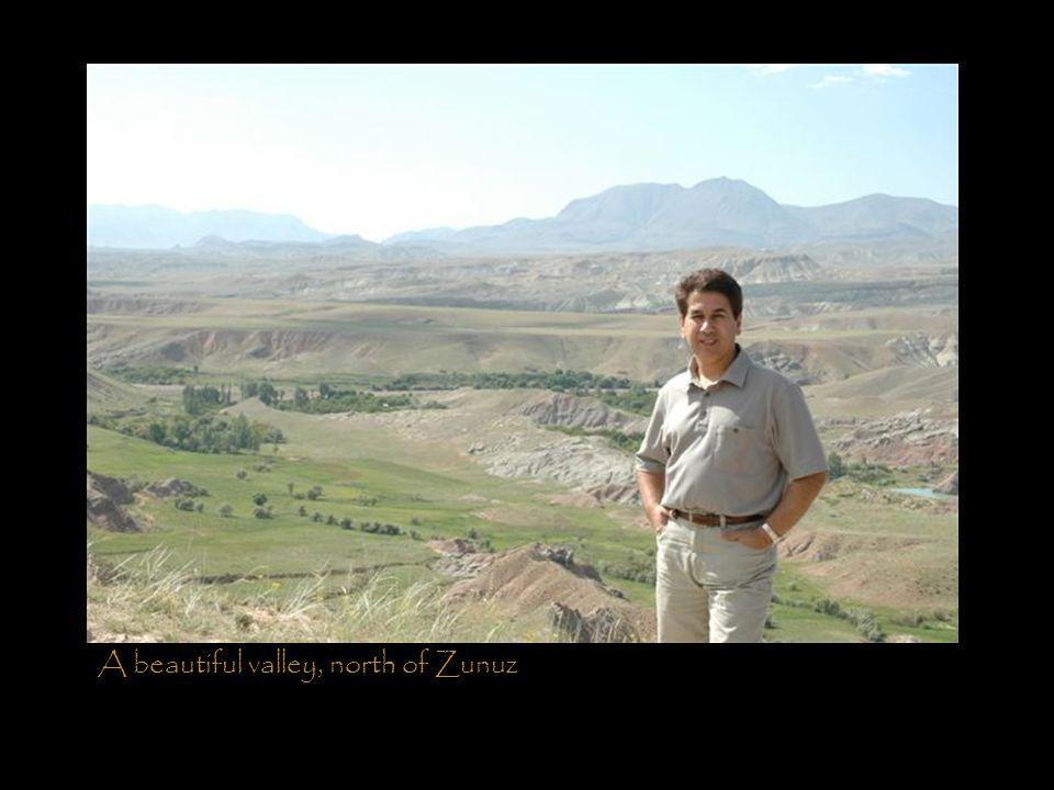 A beautiful valley, north of Zunuz
