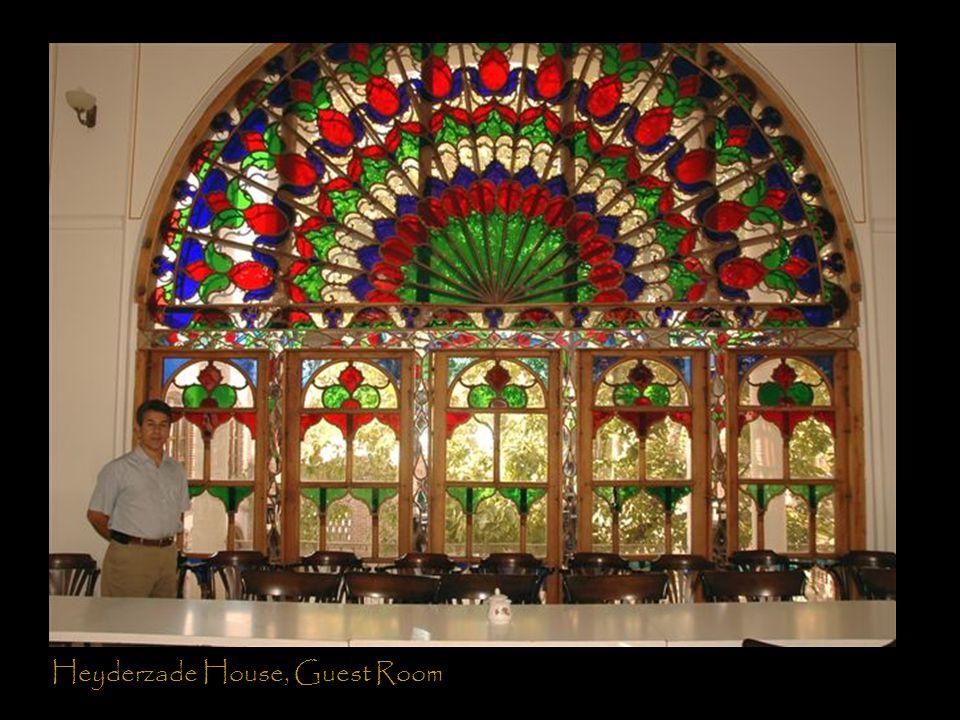 Heyderzade House, Guest Room