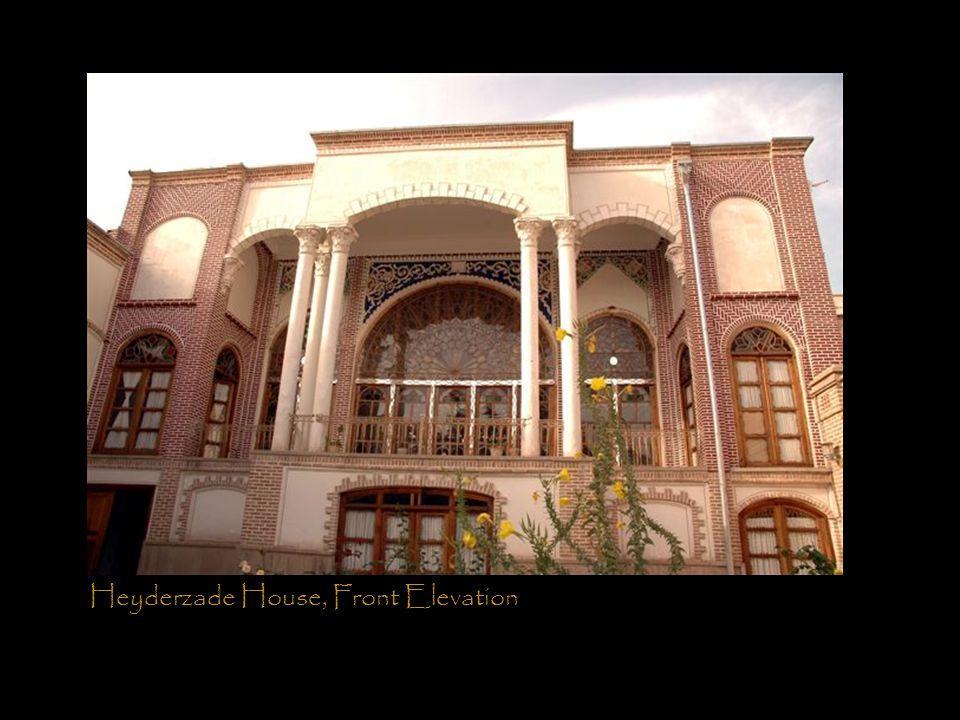 Heyderzade House, Front Elevation