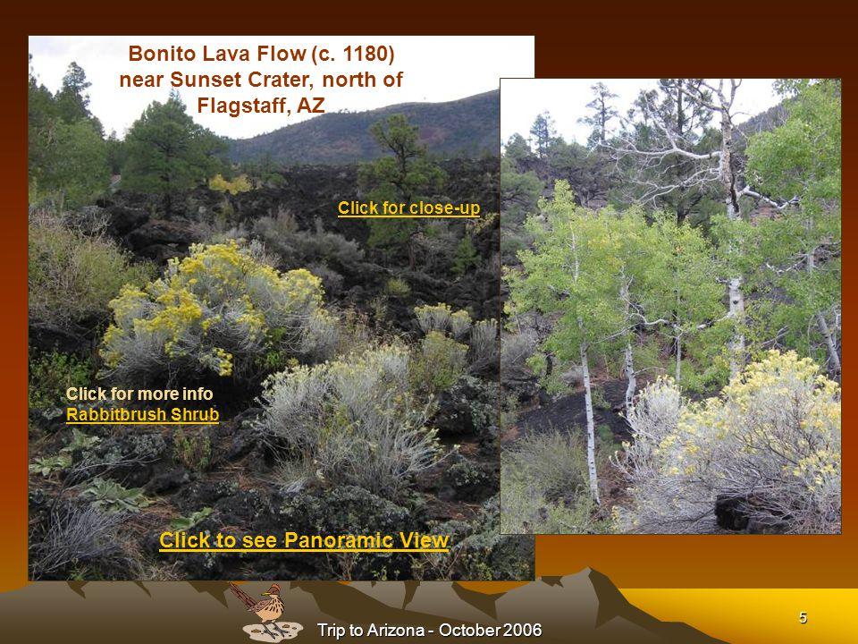 Trip to Arizona - October 2006 6 Wupatki Ruins (12 th Century) north of Flagstaff, AZ http://www.nps.gov/wupa/