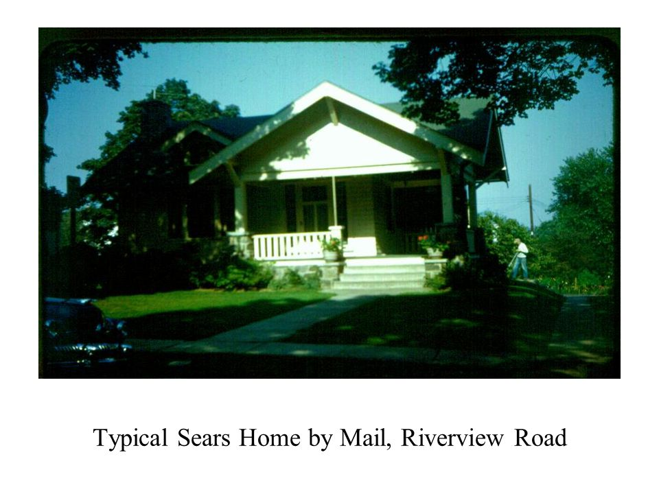 Typical Sears Home by Mail, Riverview Road