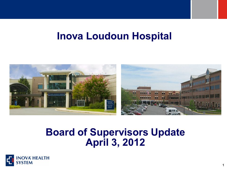2 Inova Loudoun Healthcare - Overview Serving Loudoun since 1912 – 100 th Anniversary Not-for-Profit, Community Hospital Joined Not-for-Profit Inova Health System in 2005 1,593 Employees and 659 Physicians 183 Acute Care Beds (161 Lansdowne, 22 Cornwall) Lansdowne Campus – Comprehensive Acute Care Cornwall campus –100 bed long term care facility –Emergency Center, Diagnostic Imaging –Behavioral Medicine (LAMPS) Urgent Care, Imaging Center in Dulles South Urgent Care in Purcellville
