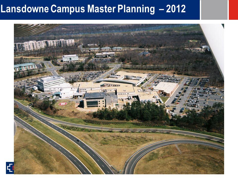 Lansdowne Campus Master Planning – 2012