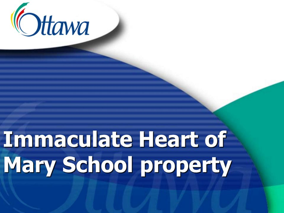 Immaculate Heart of Mary School property