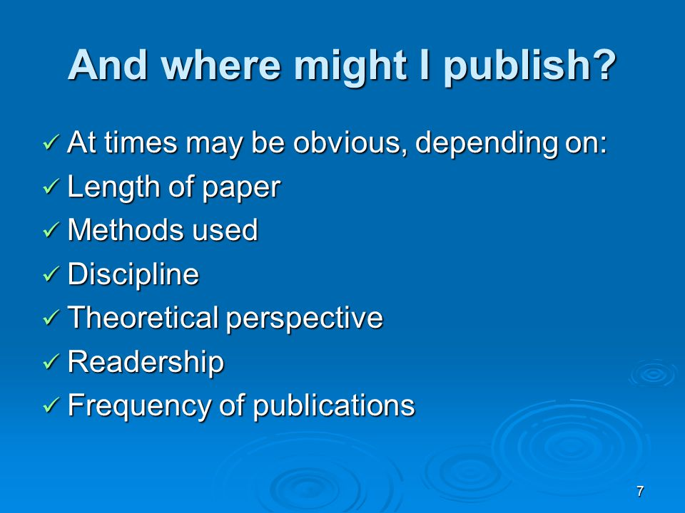 8 Trying to publish a book Converting a dissertation or thesis into a publishable book manuscript Converting a dissertation or thesis into a publishable book manuscript Collating several papers into a book Collating several papers into a book Crafting a proposal for a book idea Crafting a proposal for a book idea