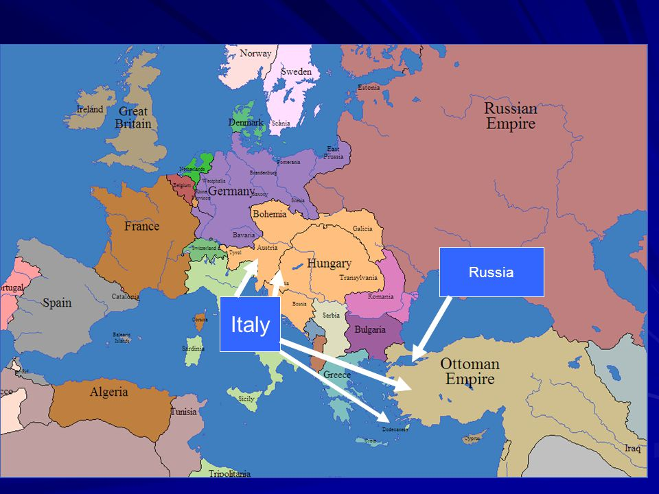 Secret Treaties Russia Italy