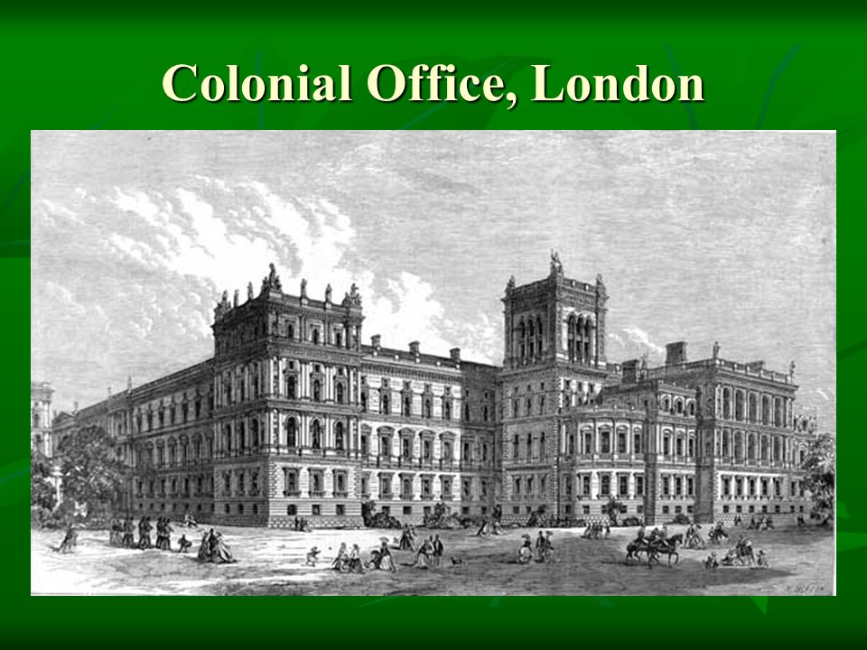 Colonial Office, London