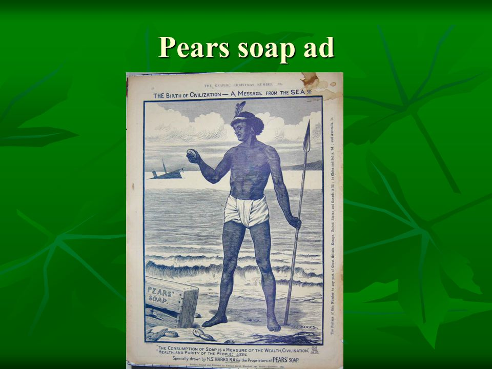Pears soap ad