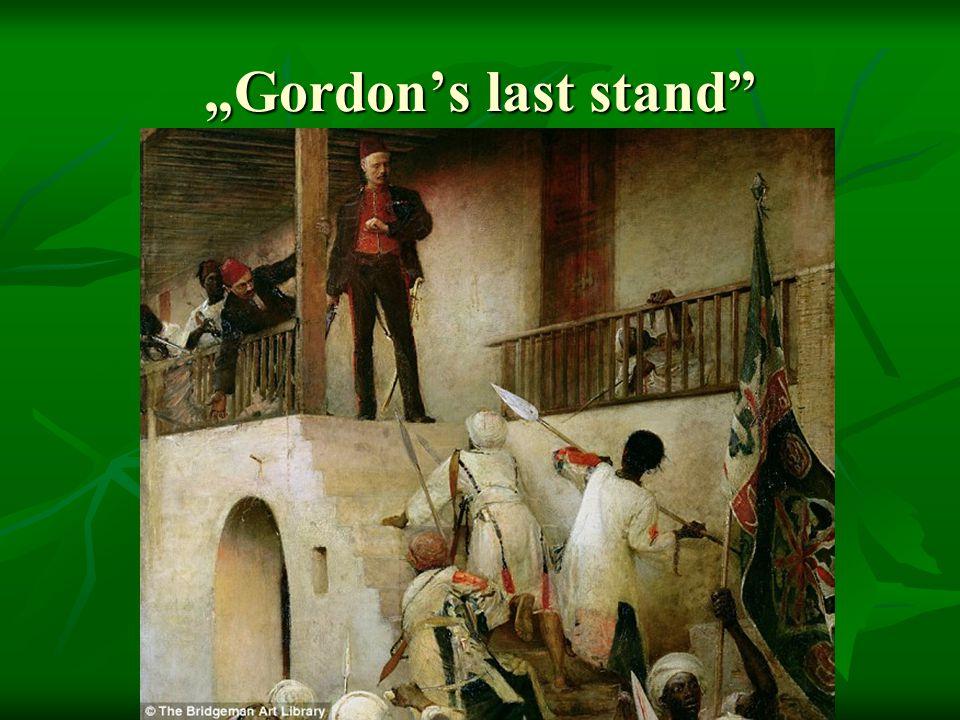 """Gordon's last stand"