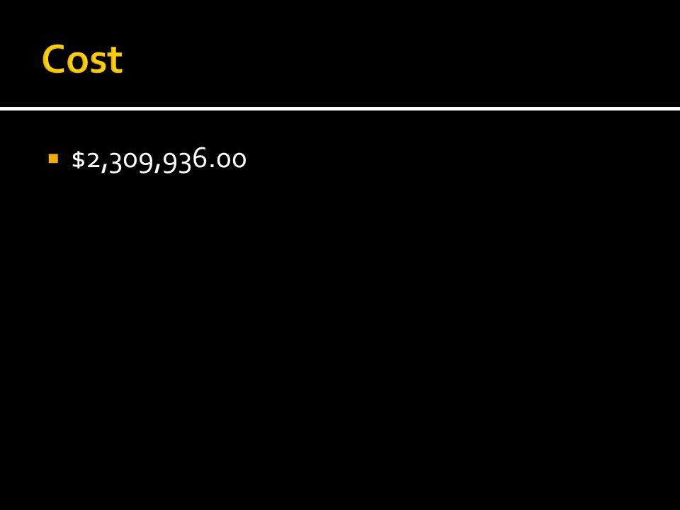  $2,309,936.00