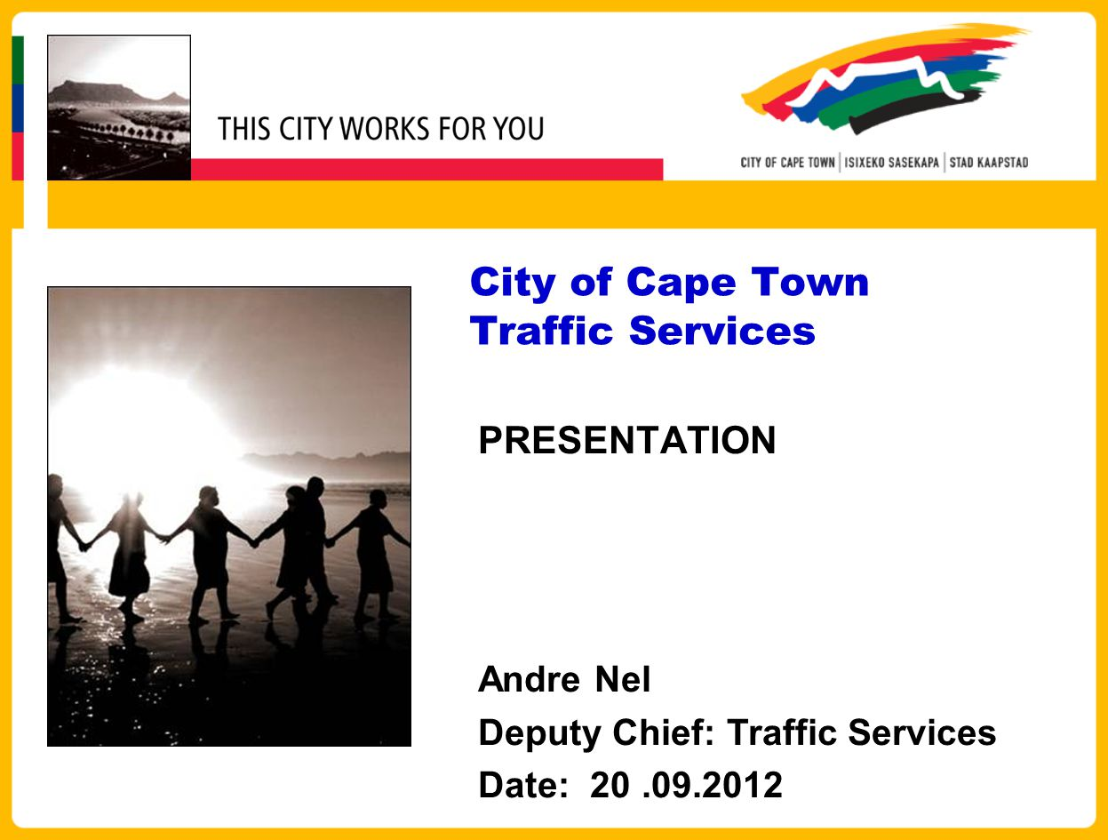 SERVICE DELIVERY STRATEGY Traffic Services has adopted a four area model.
