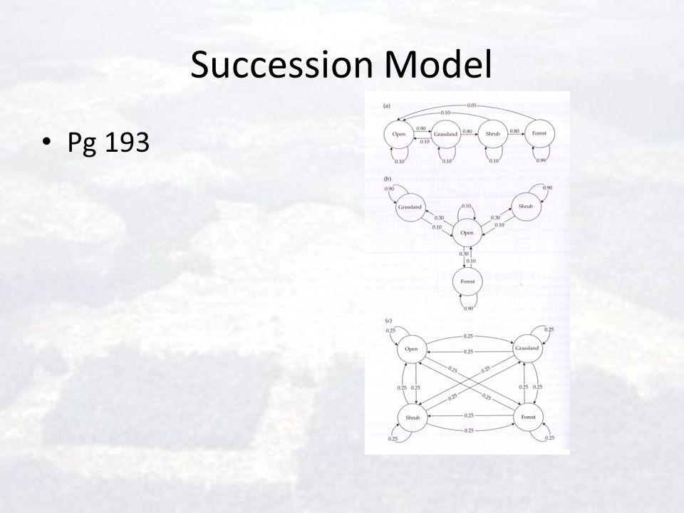 Succession Model Pg 193