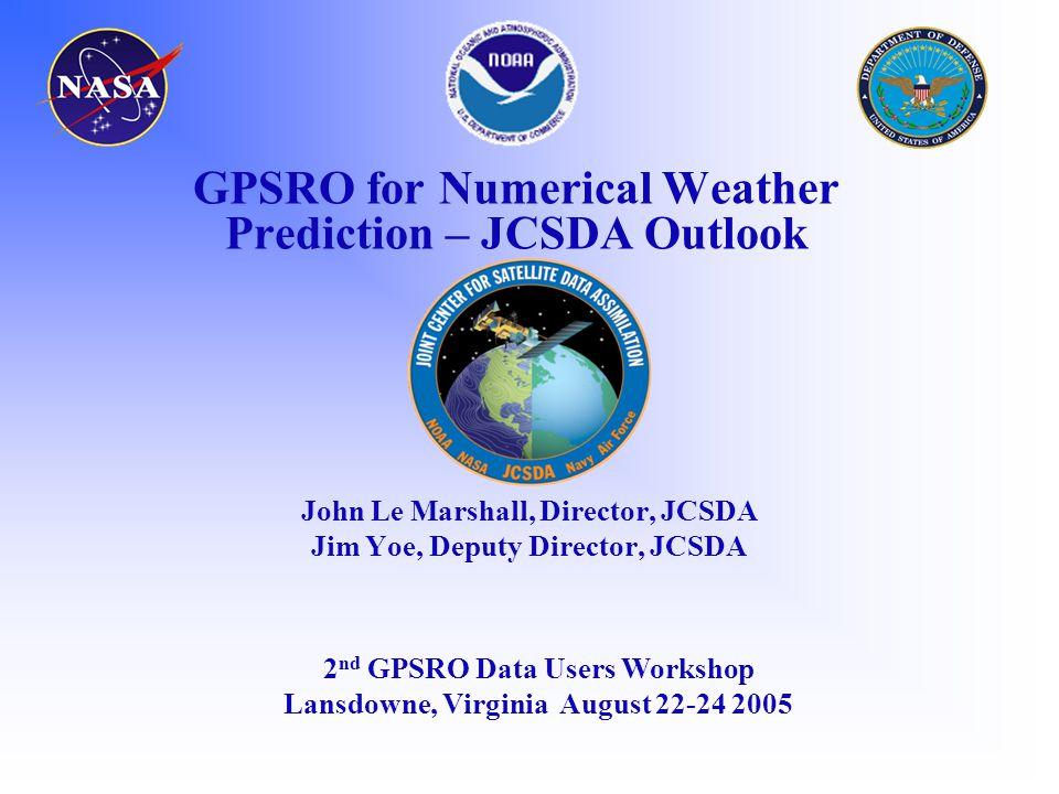 statistics at Charleston from radiosonde and GPS data radiosondesGPS