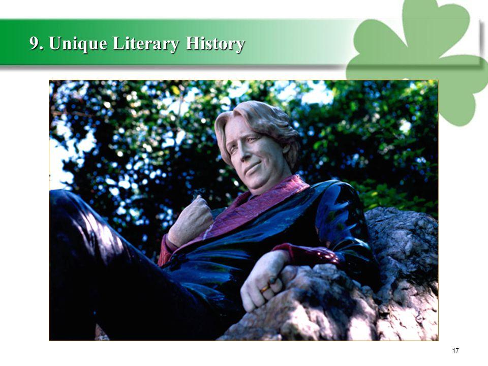 9. Unique Literary History 17