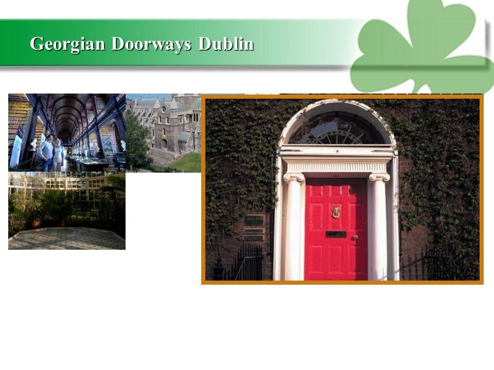 Georgian Doorways Dublin