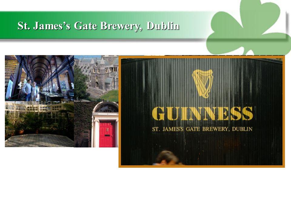 St. James's Gate Brewery, Dublin