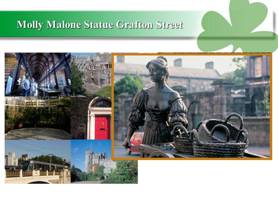 Molly Malone Statue Grafton Street