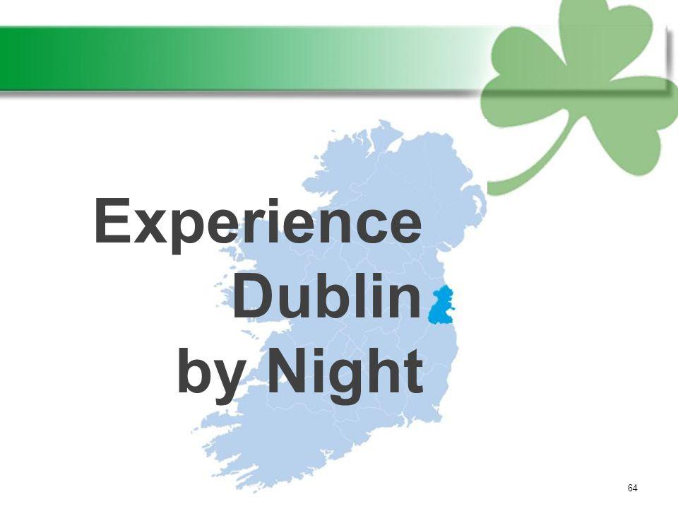 64 Experience Dublin by Night