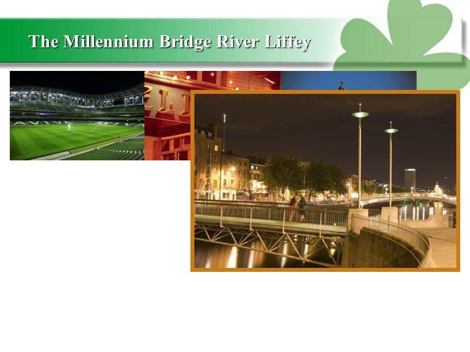 The Millennium Bridge River Liffey