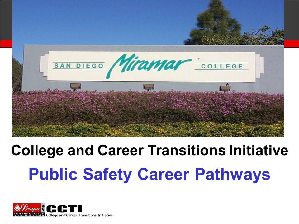 San Diego Miramar College Public Safety Career Pathways
