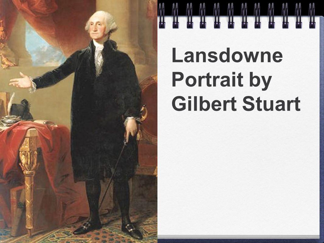 Lansdowne Portrait by Gilbert Stuart