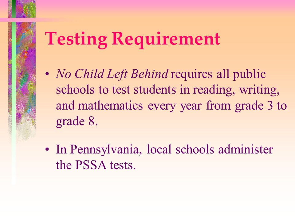 Research shows High stakes testing contributes to the: Deprofessionalization of teachers Narrowing of curriculum and the adoption of curriculum driven by tests that under-represent the purposes of schooling Practice of only teaching what is tested Elimination of project based student work, field trips, recess, and Creation of unproductive stress