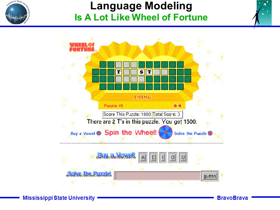 BravoBrava Mississippi State University Closed-loop data-driven modeling supervised only from a word-level transcription. The expectation/maximization