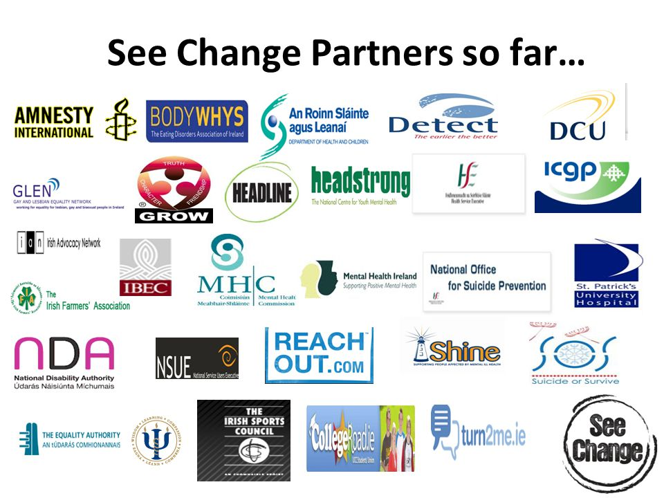 See Change Partners so far…