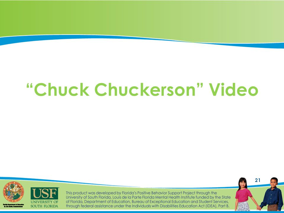 21 Chuck Chuckerson Video