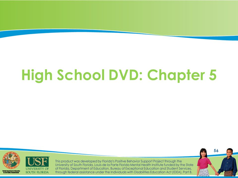 56 High School DVD: Chapter 5
