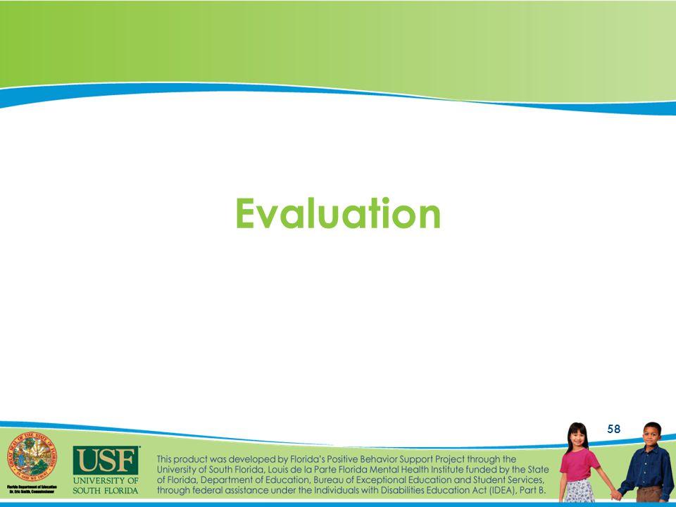 58 Evaluation