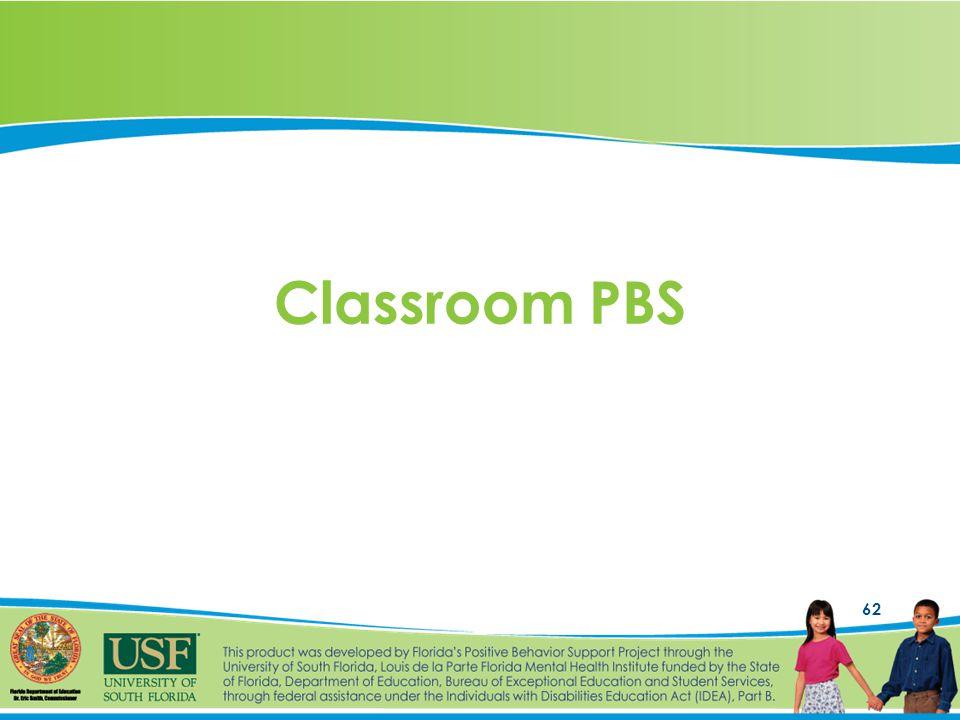 62 Classroom PBS