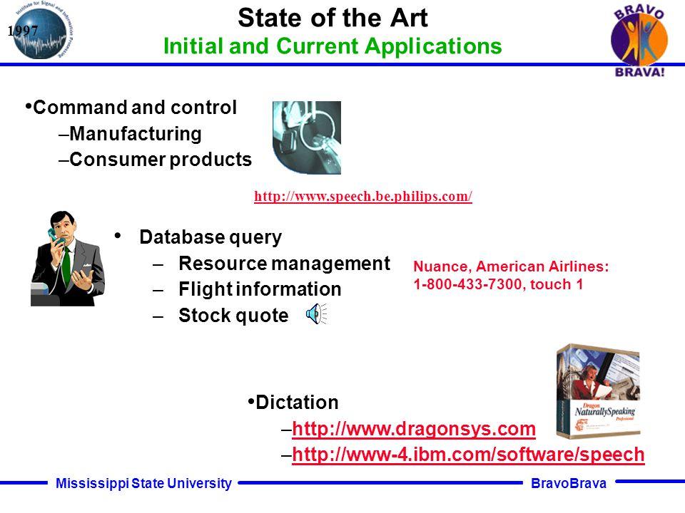 BravoBrava Mississippi State University Implementation Issues Internet-Based Speech Recognition