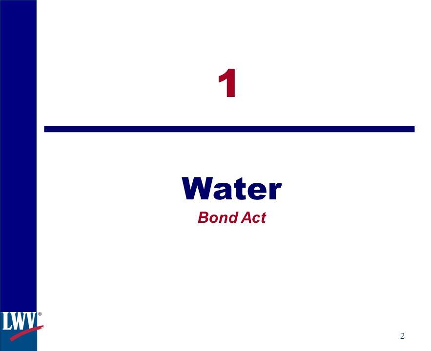 2 1 Water Bond Act