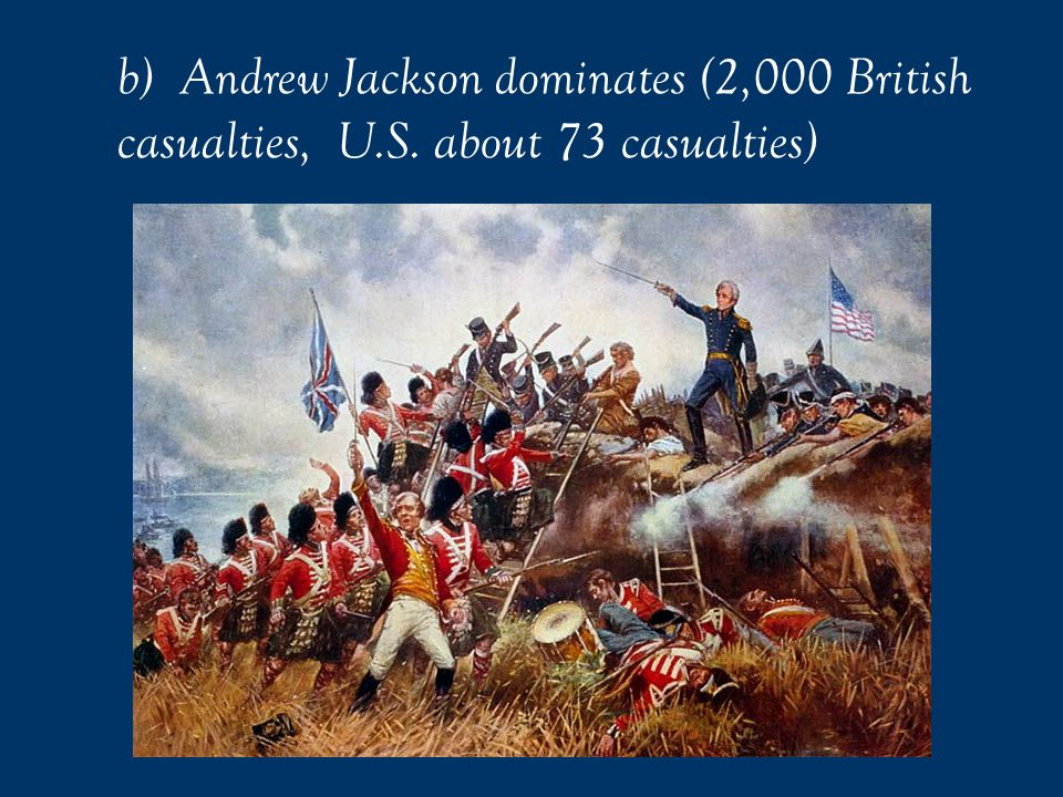United States forces at the time of the Battle of New Orleans were much smaller-- somewhere between 3,500 and 5,000.