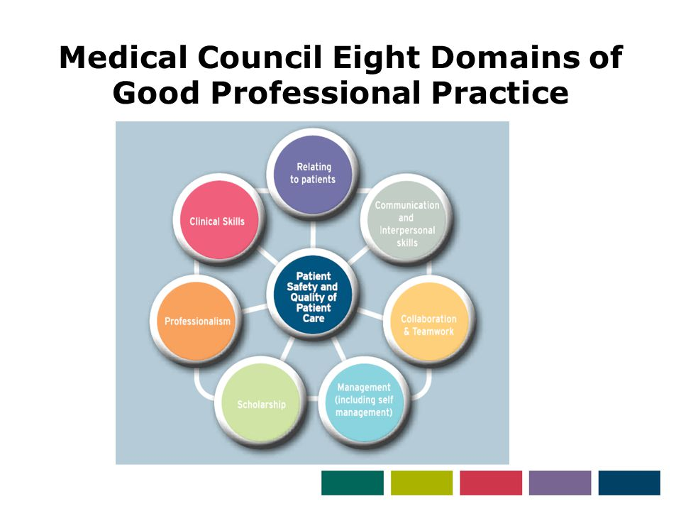 Medical Council Eight Domains of Good Professional Practice
