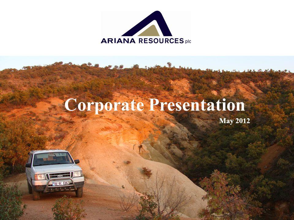 Corporate Presentation May 2012