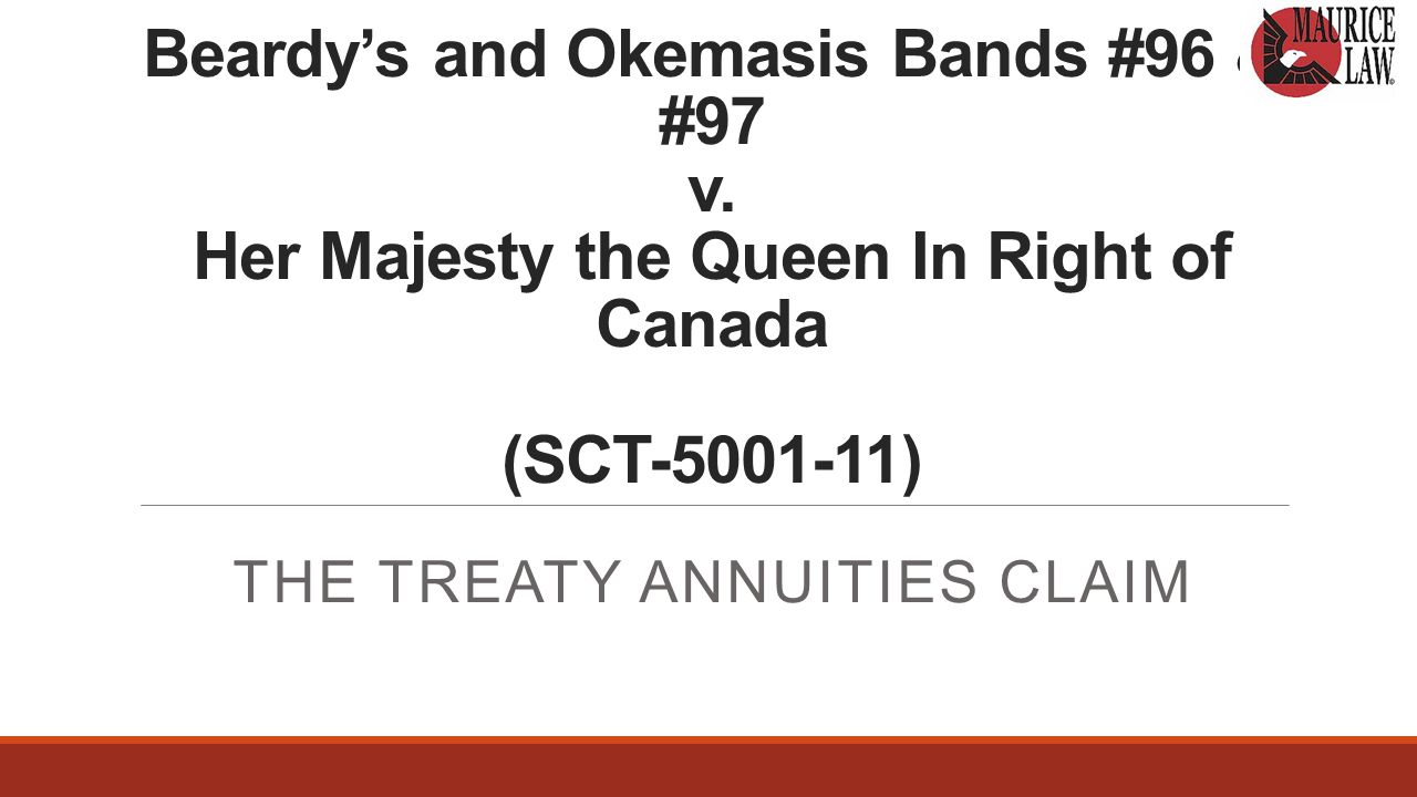 Beardy's and Okemasis Bands #96 & #97 v.