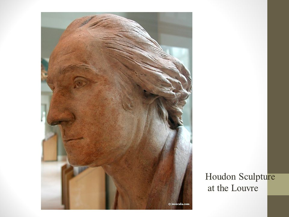 Houdon Sculpture at the Louvre