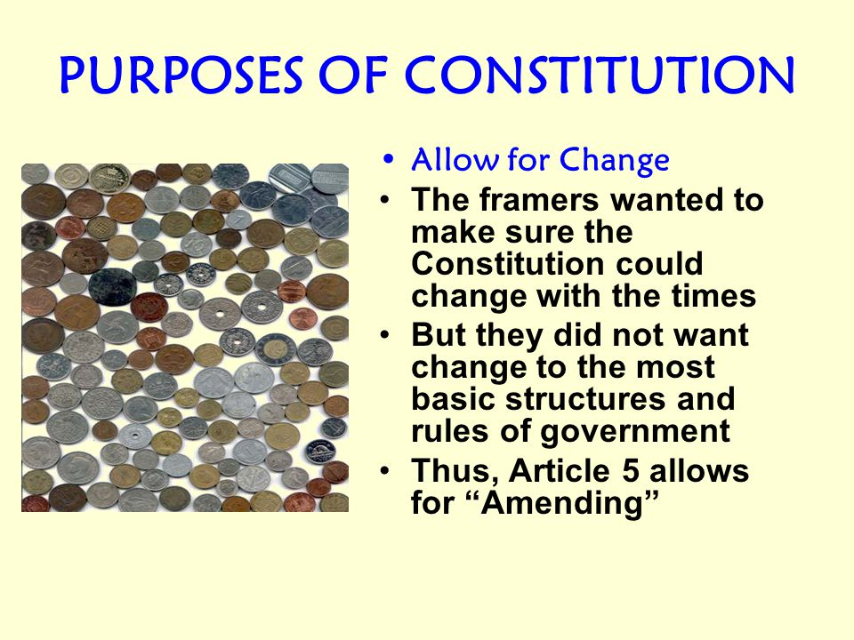 THE CONSTITUTION WAS NOT MADE TO FIT US LIKE A STRAIGHTJACKET.