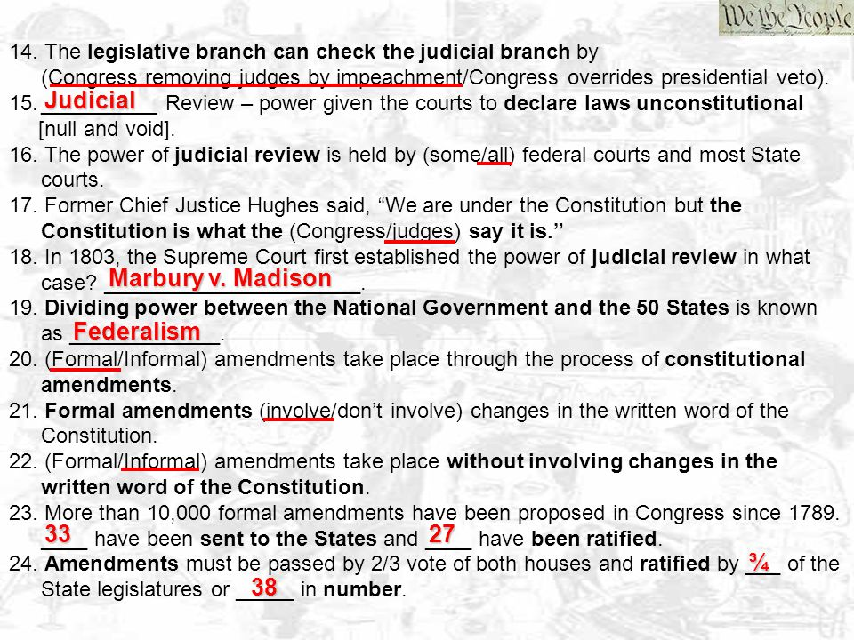 Note Sheet – Constitution 1.The Constitution is a living Constitution because it is (flexible/inflexible) and can (change/not change) to meet the times.
